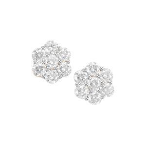 2.52ct Diamond 18K Gold Lorique Earrings