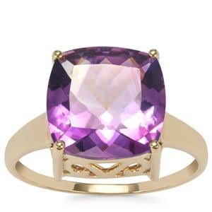 Moroccan Amethyst Ring in 10k Gold 4.80cts