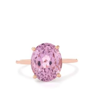 Mawi Kunzite Ring in 9K Rose Gold 6.27cts