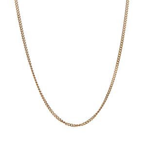 """18"""" 9K Gold Classico Diamond Cut Curb Chain 2.50g"""