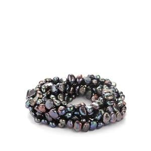 Kaori Cultured Pearl Stretchable Bracelet