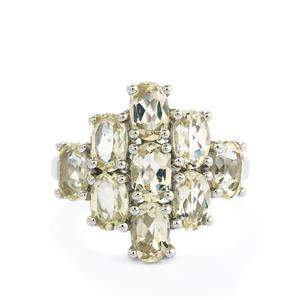 3.63ct Serenite Sterling Silver Ring