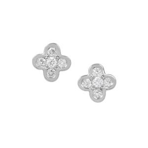 1/5ct Diamond Platinum 950 Tomas Rae Earrings