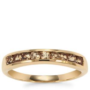Tsivory Colour Change Garnet Ring  in 9K Gold 0.6ct