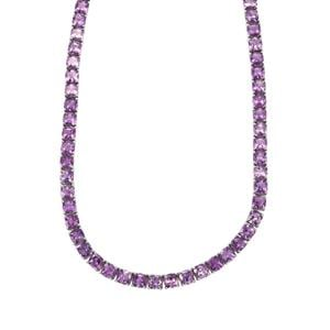 62.80ct Moroccan Amethyst Sterling Silver Necklace