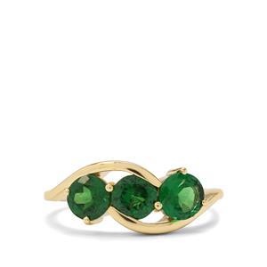 1.51ct Tsavorite Garnet 9K Gold Ring
