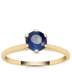 Nilamani Ring in 9K Gold 1.04cts