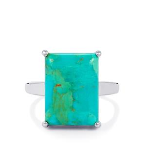 9.93ct Cochise Turquoise Sterling Silver Ring