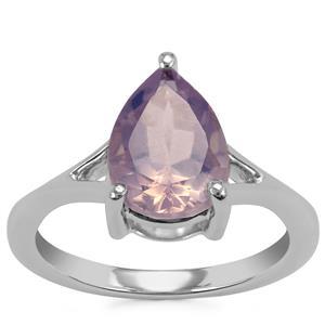 Sapucaia Quartz Ring in Sterling Silver 2.51cts