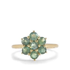 Alexandrite Ring in 10K Gold 1.42cts