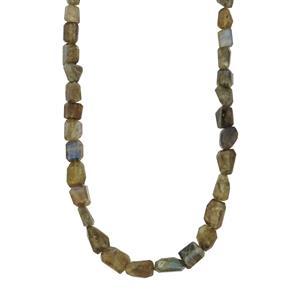 192.20ct Labradorite Sterling Silver Necklace
