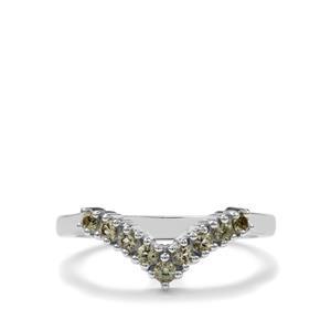 0.30ct Lemanja Amblygonite Sterling Silver Ring