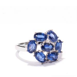 4.41ct Himalayan Kyanite Sterling Silver Ring