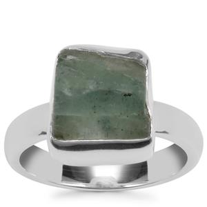 Aquamarine Ring in Sterling Silver 5.94cts
