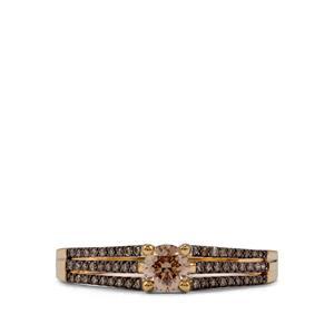Argyle Diamond Ring in 18K Gold 0.50ct