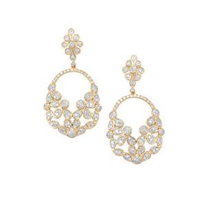 1.25ct Diamond 18K Gold Tomas Rae Earrings