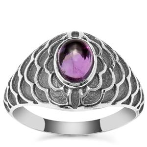 Kenyan Amethyst Ring in Sterling Silver 0.90ct