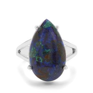 11.15ct Azure Malachite Sterling Silver Ring
