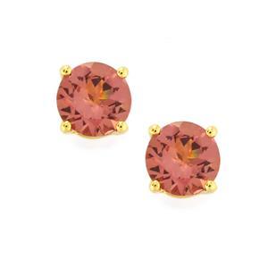 Mahenge Purple Spinel Earrings in 9K Gold 1.07cts