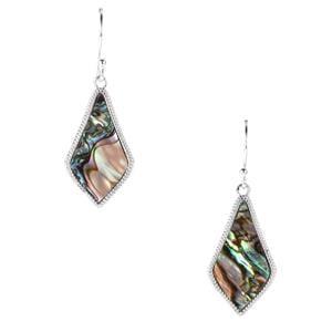 Paua Sterling Silver Earrings