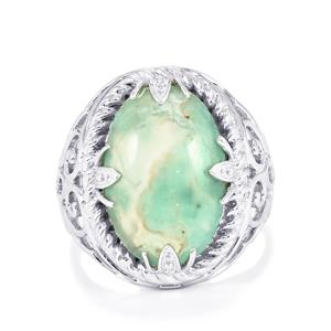 Aquaprase™ Ring in Sterling Silver 7.32cts