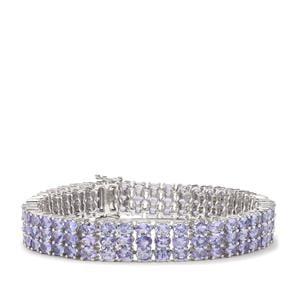Tanzanite Bracelet in Sterling Silver 23.71cts