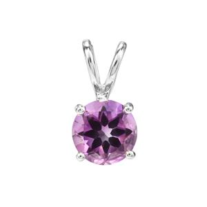 1.75ct Moroccan Amethyst Sterling Silver Pendant