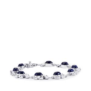 Sar-i-Sang Lapis Lazuli Bracelet in Sterling Silver 15.44cts