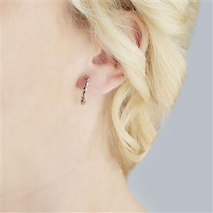 1/8ct Diamond 9k Rose Gold Earrings