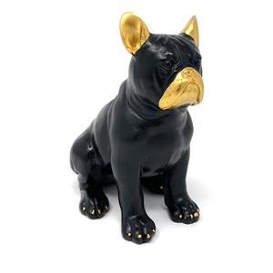 16cm Kan the Sitting French Bull Dog Ornament