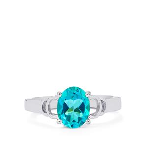 Batalha Topaz Ring in Sterling Silver 2.17cts