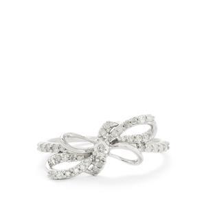 1/3ct Diamond 10K White Gold Ring