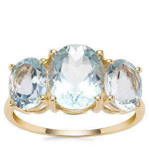 Madagascan Aquamarine Ring in 9K Gold 4.50cts