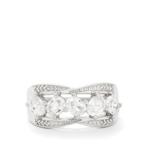 2.76ct Ratanakiri Zircon Sterling Silver Ring