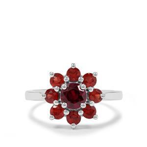2.08ct Rajasthan & Nampula Garnet Sterling Silver Ring
