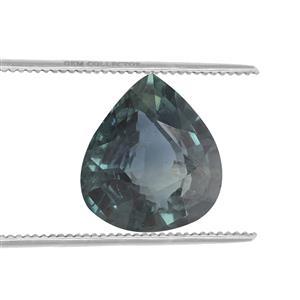1.06ct Nigerian Green Sapphire (N)
