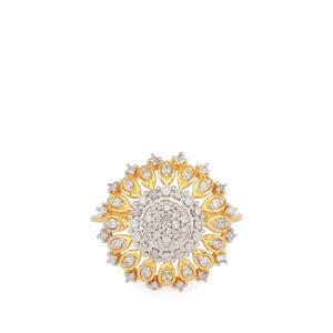 1/2ct Diamond Ring in 9k Gold