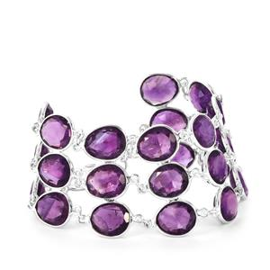 Bahia Amethyst Bracelet in Sterling Silver 74.25cts