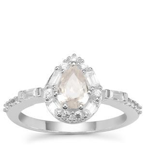 Ratanakiri Zircon Ring in Sterling Silver 1.63cts