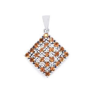 1.70ct Sopa Andalusite Sterling Silver Pendant