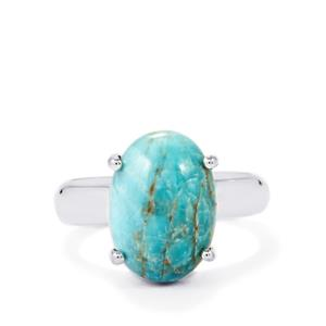 7.50ct Fort-Dauphin Apatite Sterling Silver Aryonna Ring
