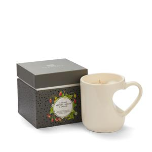 Cup of Appreciation, Strawberry Fragrance with Strawberry Quartz Heart ATGW 40cts