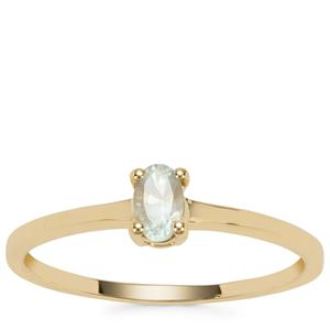 Alexandrite Ring in 9K Gold 0.27ct