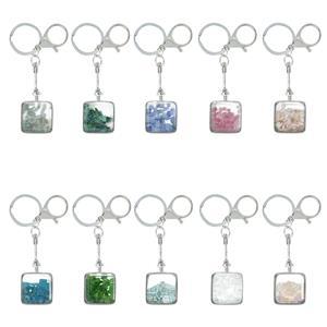Gemstone Key Fob / Handbag Charm