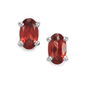 Octavian Garnet Earrings in Sterling Silver 0.59cts