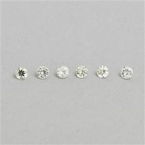 Ceylon White Sapphire Loose stone  1.09cts