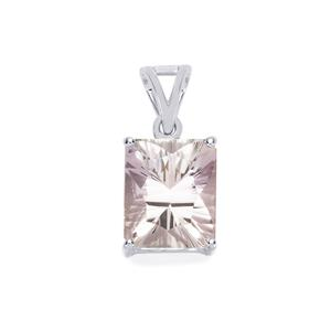 Blueberry Quartz Pendant in Sterling Silver 4.88cts