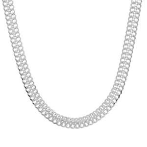 "18"" Sterling Silver Altro Diamond Cut Arrow Slider Necklace 7.01g"