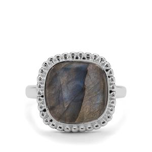 8ct Labradorite Sterling Silver Aryonna Ring