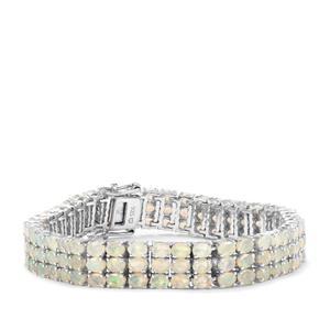 Ethiopian Opal Bracelet in Sterling Silver 15.33cts